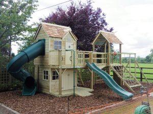 Damson mega combo turbo playhouse climbing frame