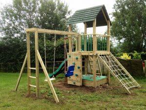 Treetops tower climbing frame