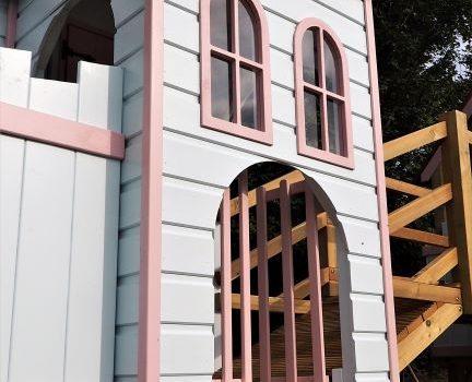 Amazing children' play castle bespoke project in Bath