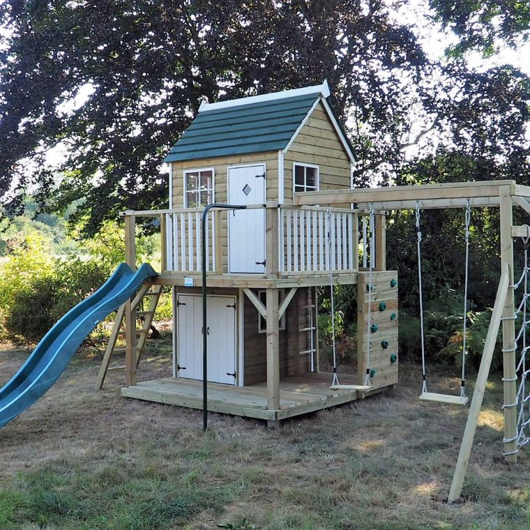 Forest Mega Playhouse climbing frame