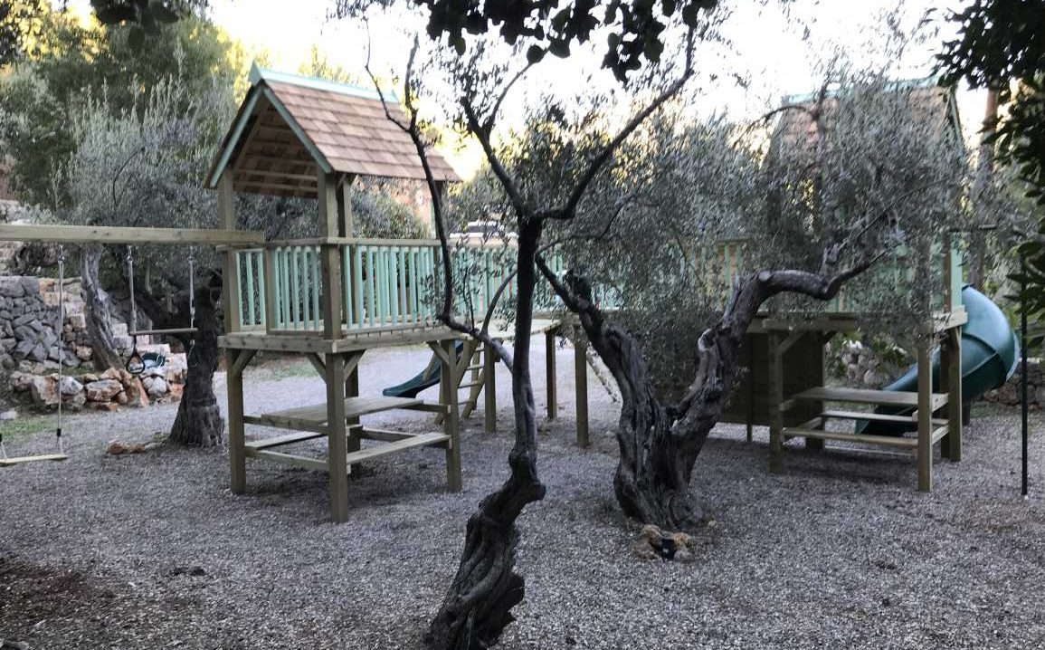 A climbing frame is Majorca