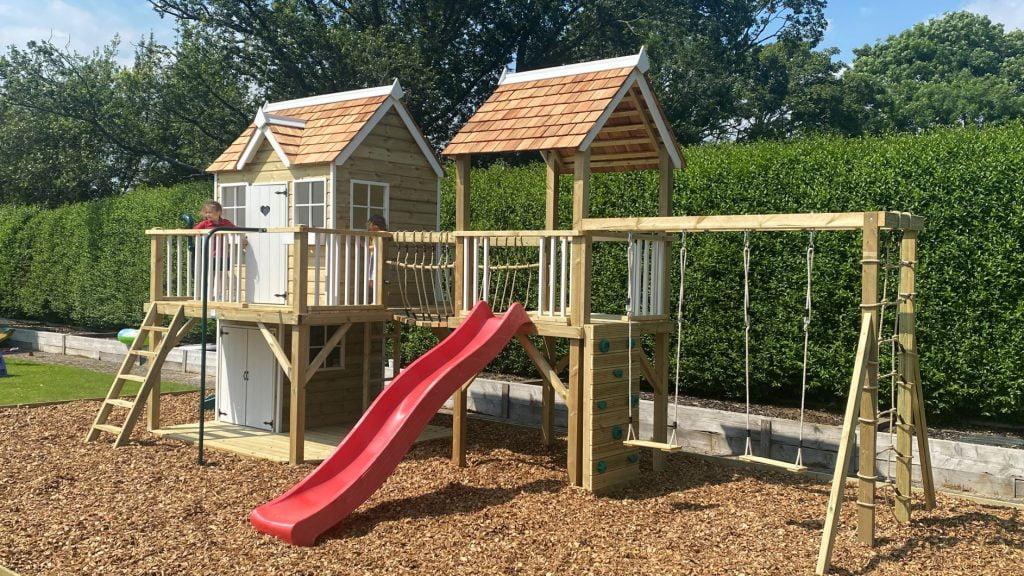Wooden Garden Playhouse Kent