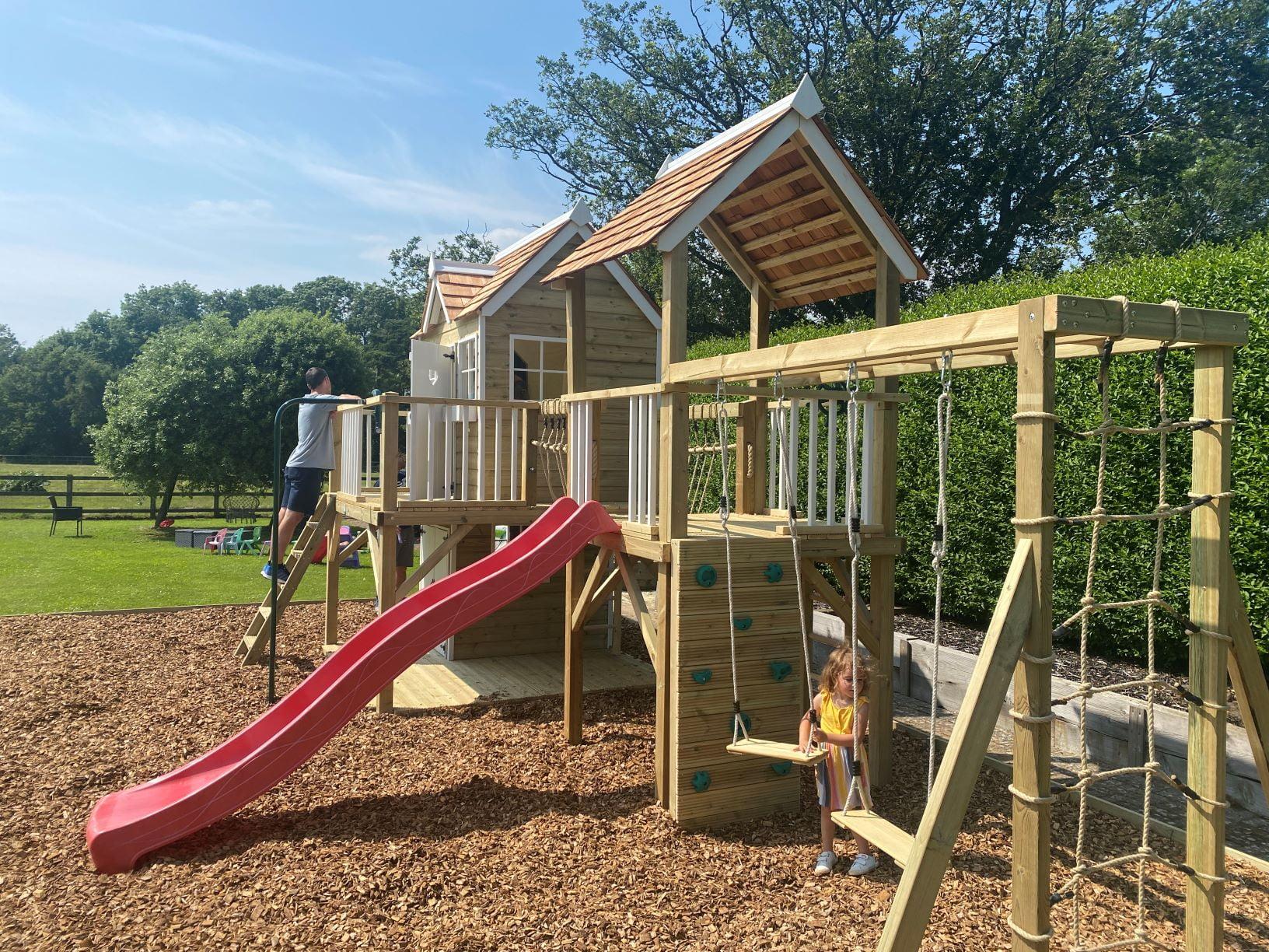 Kent Garden Playhouse Installation