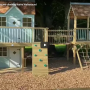Take a walkaround the Otter Playhouse climbing frame recently built in Surrey.